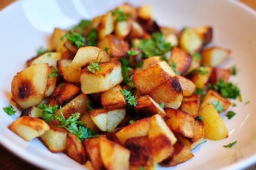 kartofler med gåsefedt
