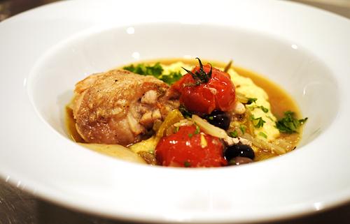 kylling med tomat og fennikel
