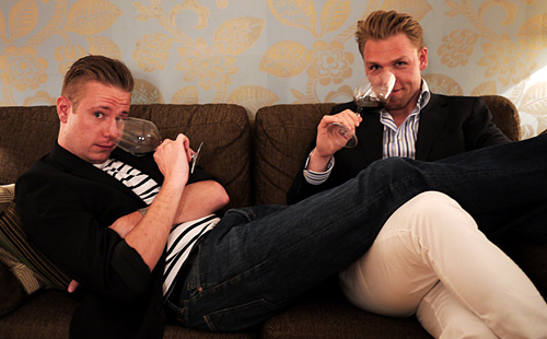 Mads Johansen og Jimmy Rørbæk