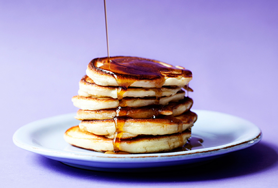 banan pandekager banana pancakes