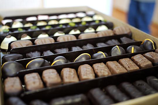 sv. michelsen chokolade