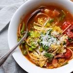 Fyldig minestrone – perfekt vintertrøstemad