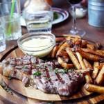 Steak & Fries på Nose2Tail Burger&Steak