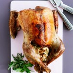 Thanksgivingkalkun med brødfyld og marsala sauce