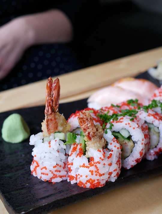 dejlige store bryster sorø sushi