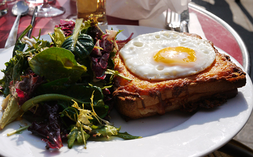 Croques Madame Etienne Marcel
