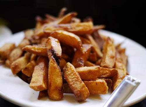 Café des Musées pommes frites