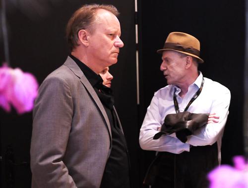 Stellan Skarsgaard og Jesper Christensen
