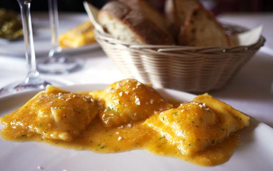 Ravioli med græskar zucco