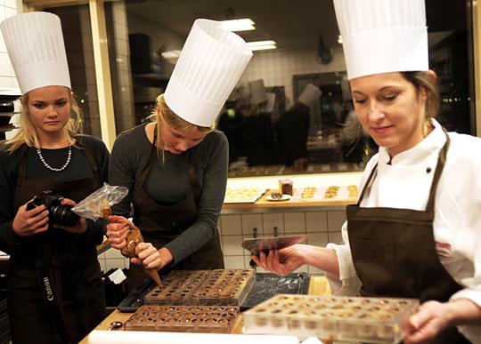 Marriott Plat du Jour chokolade