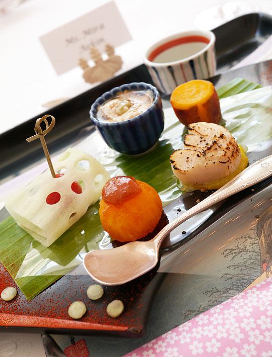 japansk frokost Toshio Sano