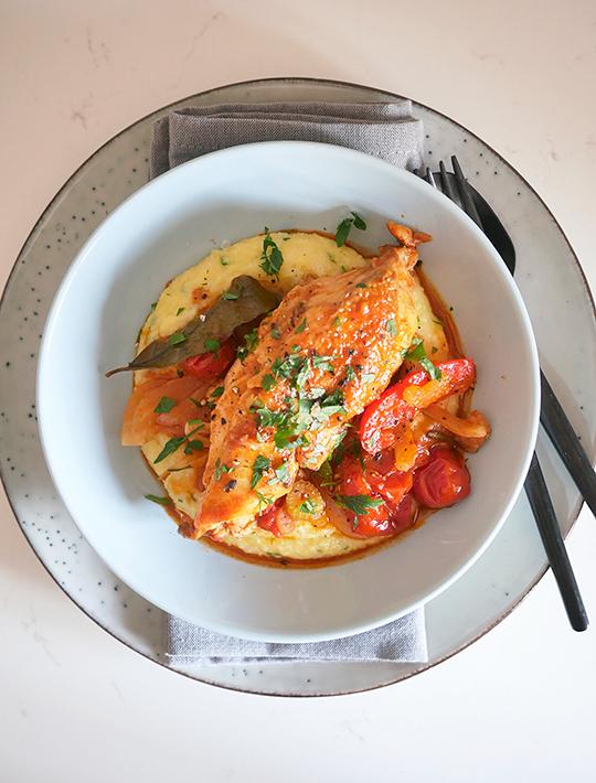 Kylling I Agrodolce Sursød Kylling Fra Piemonte